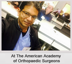 At The American Academy of Orthopaedic surgeon_1