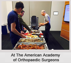 At The American Academy of Orthopaedic surgeon_2