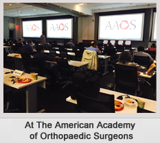 At The American Academy of Orthopaedic surgeon_3